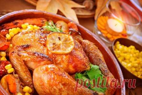 Рецепты цыпленка - уникальные рецепты зарубежной кухни