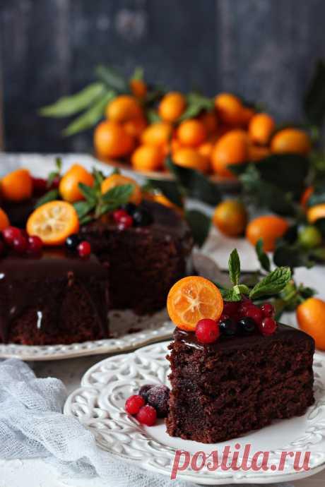Пряничный торт - Сладкий мир