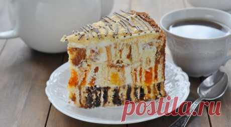 """Торт """"Пенек"""", пошаговый рецепт с фото"""