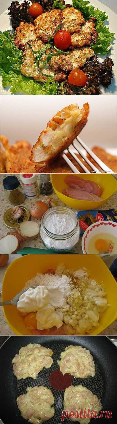 Рецепт на выходной: Куриные оладьи | SOFTMIXER