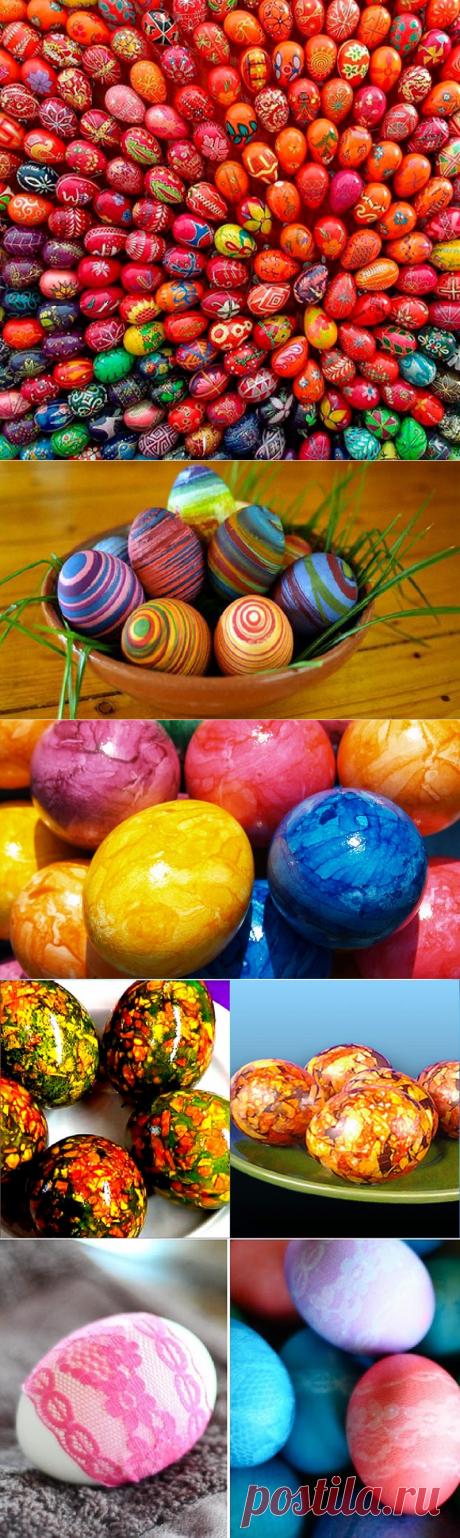 7 бесподобных способов окрасить яйца: никаких кистей, наклеек… Только вода и парочка хитростей!