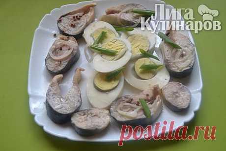 Скумбрия пряного посола — рецепт пошаговый от Лиги Кулинаров