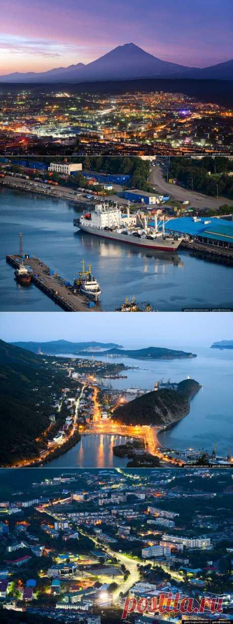 Петропавловск-Камчатский с высоты : НОВОСТИ В ФОТОГРАФИЯХ