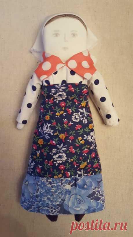 Реплика куклы из деревни Чёрная горка Архангельской области.