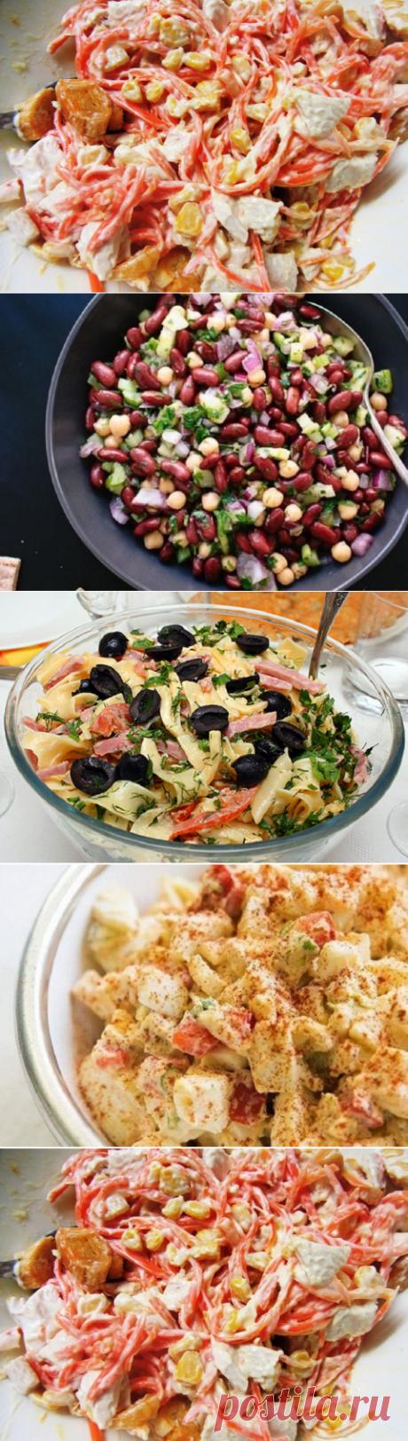 Надоел оливье? 4 салата, которые затмят классический рецепт!