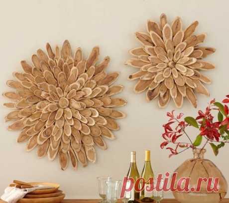 На стене...дрова (большая подборка) / Декор стен / ВТОРАЯ УЛИЦА - Выкройки, мода и современное рукоделие и DIY