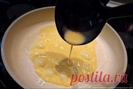 Omelet in Japanese.