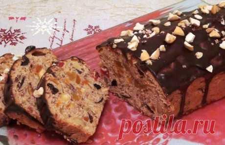 Рождественский фруктовый кекс от Джин Палмер! Как приготовить в домашних условиях Рождественский фруткейк. Пошаговый рецепт.