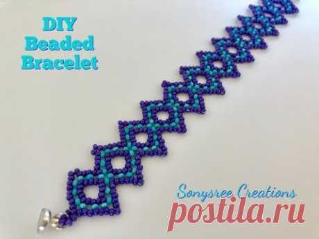 Beaded lace Bracelet or Chocker \ud83d\udc9e DIY Beaded Bracelet