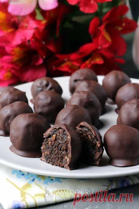 Конфеты «Чернослив в шоколаде» — рецепт с фото пошагово. Как приготовить конфеты «Чернослив в шоколаде» с миндалём?