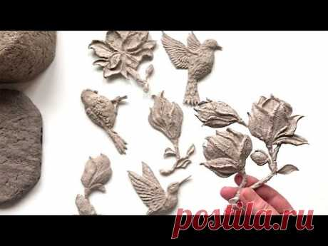 #DIY Красивая шкатулка из папье-маше   Поделка из бумаги