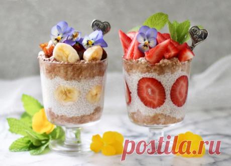 Вкусные рецепты десертов без выпечки: топ-6