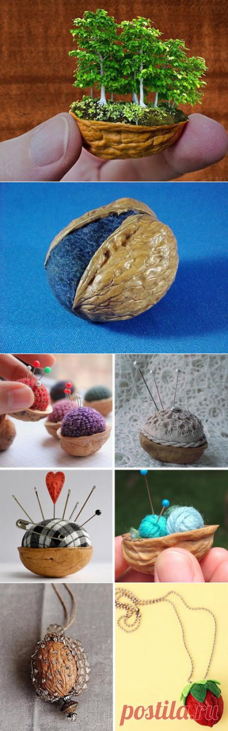 Невероятное творчество из грецких орехов!