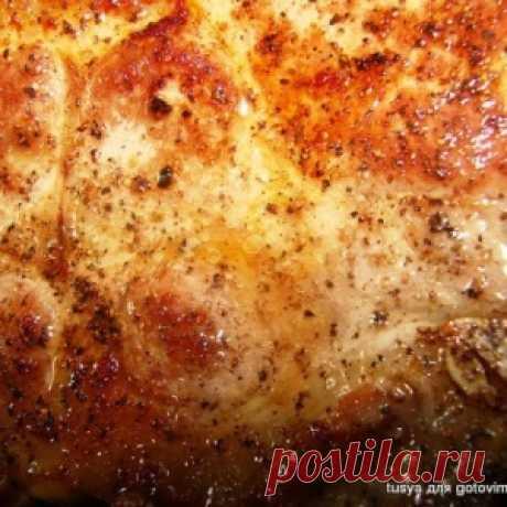 El filete de cerdo sobre el hueso - MirTesen