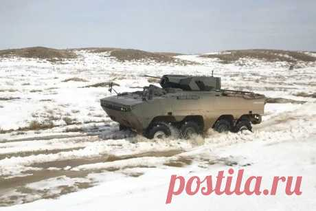 Турция передала Казахстану на испытания бронемашину Arma — Российская газета