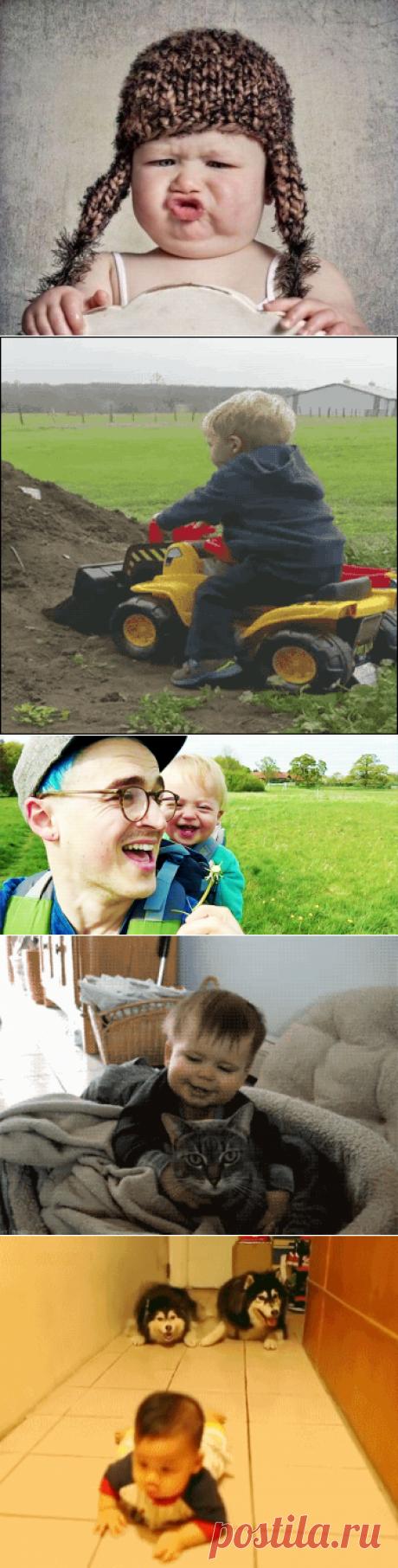 Забавные фото с детьми / Малютка