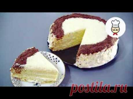 """Узнайте рецепт торта, который приготовил даже Я / Как приготовить ТОРТ и удивить семью - YouTube А чего говорить то????  Быренько в магазин за продуктами и готовить. Такой торт понравится тем, кто не любит сильно влажные тортики. Вкусный и простой тортик. Не знаю почему """"ТВОРОЖНИК"""". Творога там всего чуток, но это очень вкусно."""