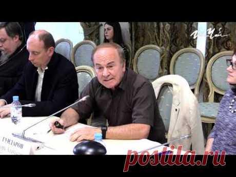 """Академик И.А.Гундаров: """"Возраст 55 лет выбран не случайно"""" - YouTube"""