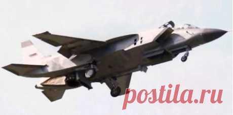 Як-141.Истребитель-бомбардировщик вертикального взлёта и посадки
