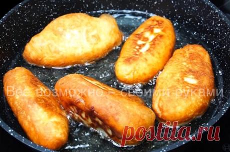 Те самые Пуховые Пирожки из моего Любимого Теста с вкуснейшей начинкой. Всё просто! | Всё возможно - своими руками | Яндекс Дзен