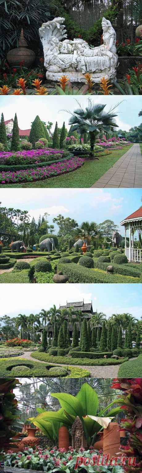 Тропический сад Нонг Нуч(Nong Nooch Tropical Garden).