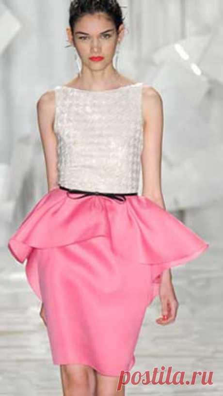 El patrón de la falda con baskoy de Anastasia Korfiati el Patrón de la falda con baskoy. La elegancia y cierta ligereza le es dada al vestido por la falda con baskoy. El patrón de la falda con baskoy se basa según los mismos principios...