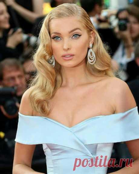 Прическа «голливудская волна» считается бессменной классикой среди знаменитостей — Модно / Nemodno