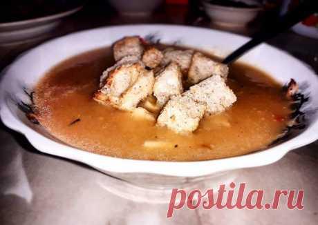 Суп-пюре из кабачка Автор рецепта NaKyxne Дарья - Cookpad
