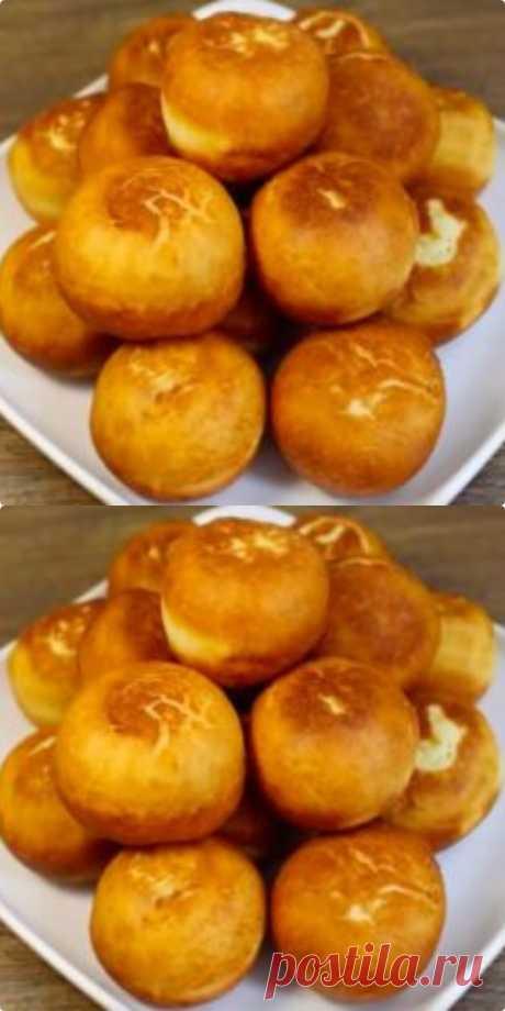 Всего 4 ингредиента! Соседка поделилась самым простым рецептом пончиков! - kniggasovetov.ru