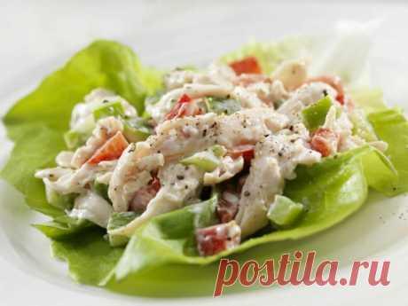 Как приготовить салат с курицей и свежими овощами :: Кулинарные рецепты :: KakProsto.ru: как просто сделать всё
