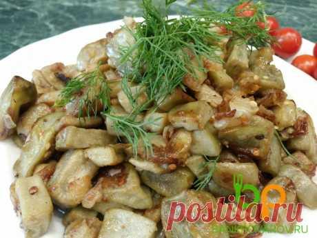 Жареные баклажаны, а вкуснее грибов - все в восторге от этого рецепта