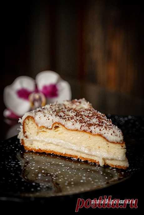Полезный творожный торт с заварным кремом   Простые кулинарные рецепты с фотографиями