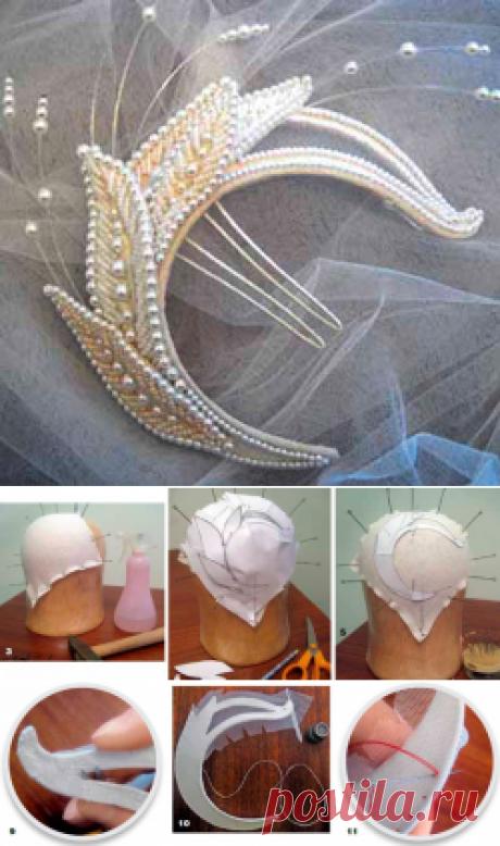 Оригинальное украшение для самой красивой невесты — Рукоделие