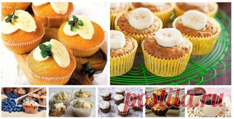 Капкейки, кексы, маффины: 9 рецептов