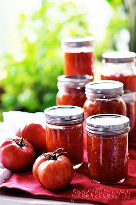 Рецепт заготовок из помидор на зиму в аэрогриле - Помидоры на зиму . 1001 ЕДА вкусные рецепты с фото!