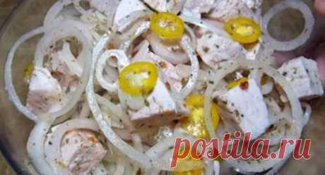 Такого вы еще не пробовали: салат-шашлык – два любимых блюда в одном - KakZachem.ru