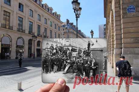 20 замечательных винтажных фото, демонстрирующих, как изменился Париж с 1900-х