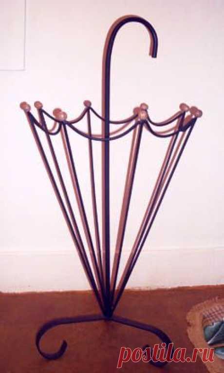porta guarda-chuva de ferro