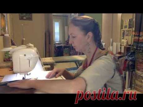 Лоскутный эфир 22. Как сшить  красивейшую  зимнюю  юбку. Ответы на вопросы - YouTube