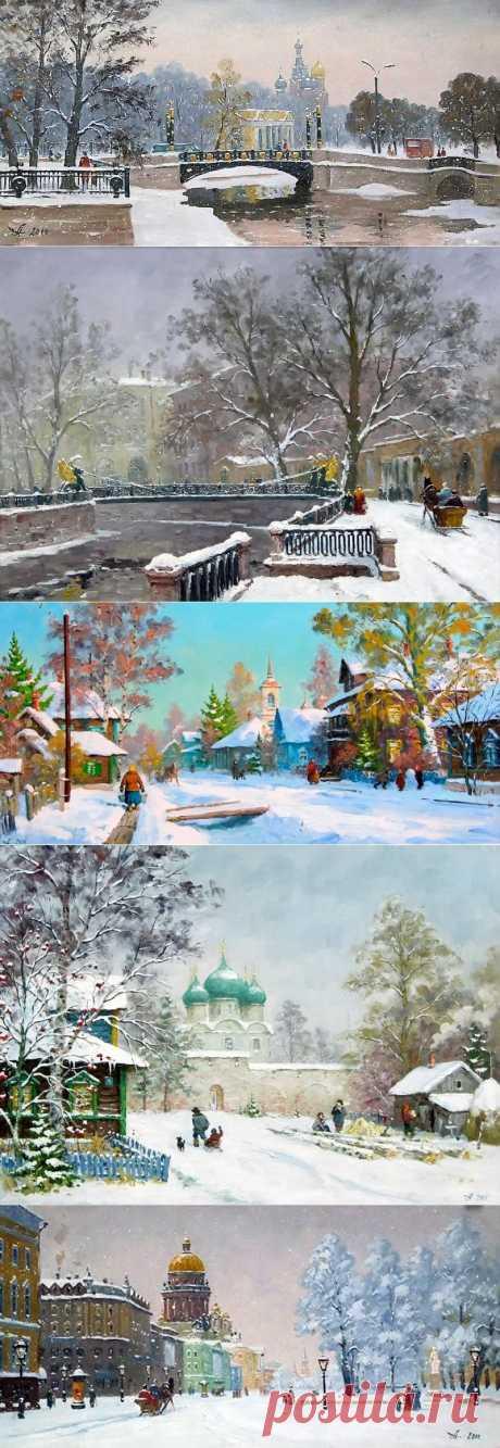 Творчество художника Александра Александровского.