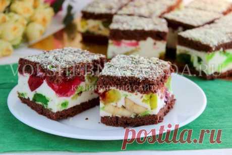 Торт «Битое стекло» - рецепт с фото пошагово в домашних условиях | Волшебная Eда.ру