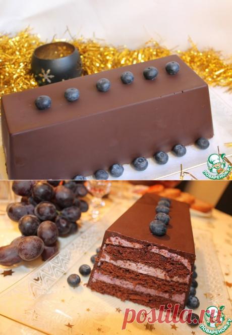 Торт с черничным муссом – кулинарный рецепт