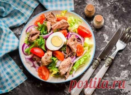 Рыбный салат из тунца