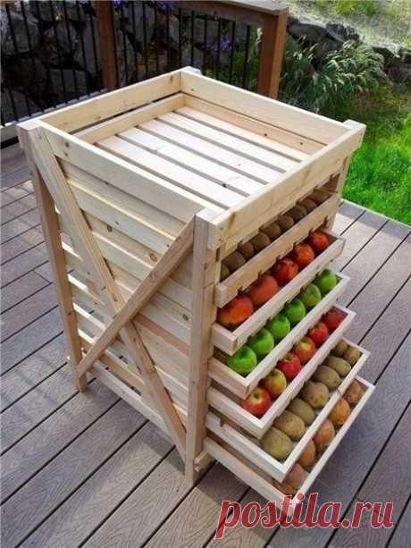 Interesting idea for drying and storage of products