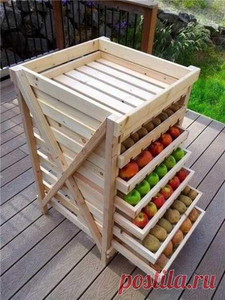 Интересная идея для сушки и хранения продуктов