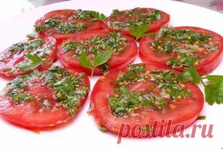 Помидоры по-итальянски – пошаговый рецепт с фотографиями
