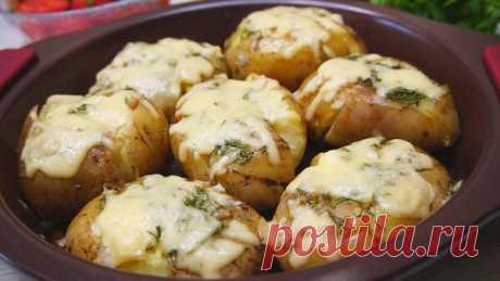 Картофель по-австралийски, способ превращения банальной картошки в очень вкусную картошку.
