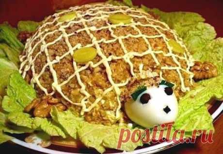 """La ensalada \""""la Tortuga\"""""""