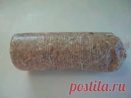 Прессованное мясо в мешке. Маринкины творинки