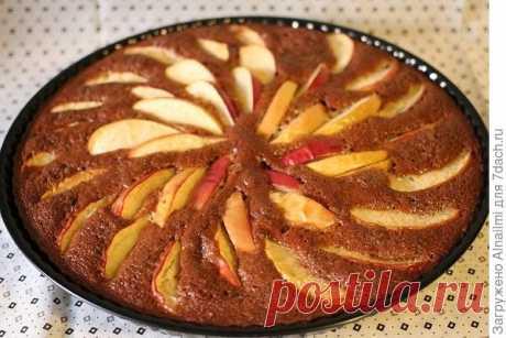 """Пирог с яблоками """"Дары Осени""""."""